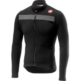 Castelli Puro 3 Full Zip Jersey Men light black